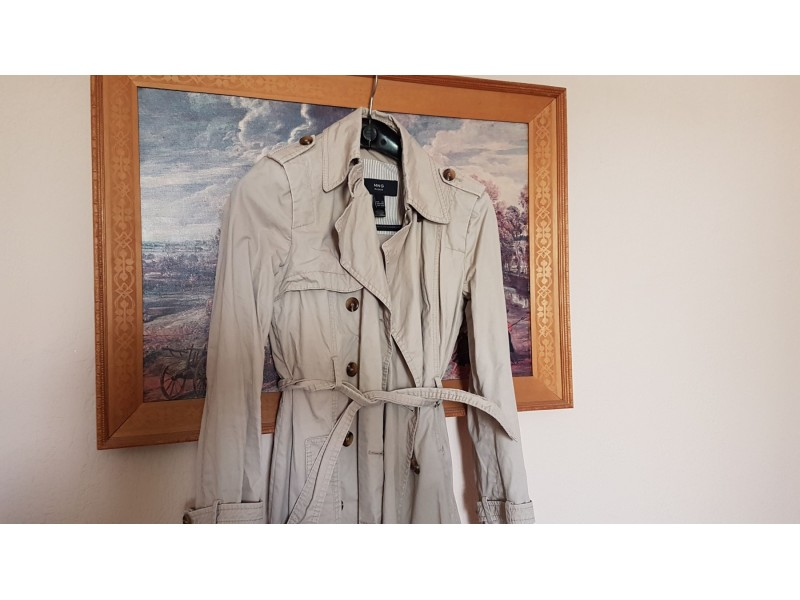Mango mantil (trench coat) XS