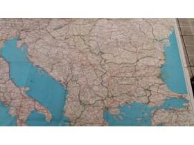 Mapa Juzne Evrope Na Poljskom 73107137 Limundo Com