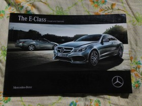 Mercedes - Benz, The E-Class, Coupe and Cabriolet