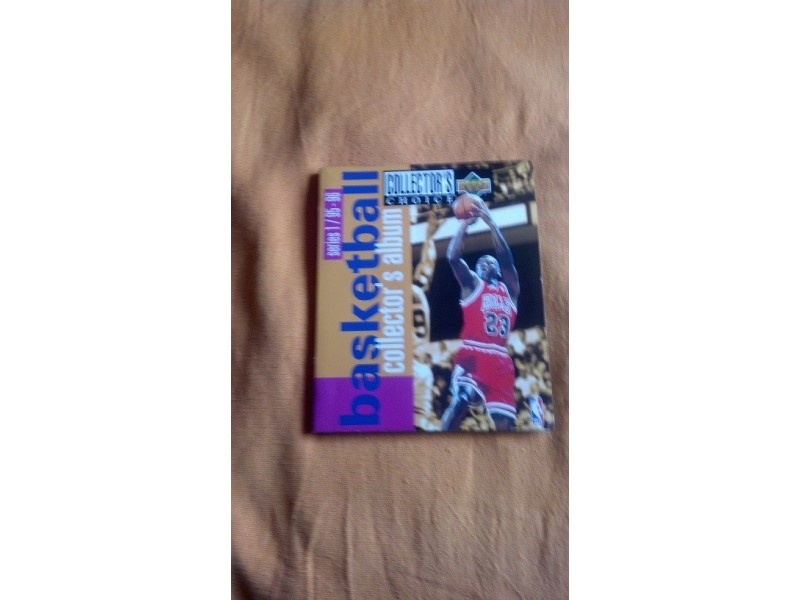 NBA 95/96 pun album kartica
