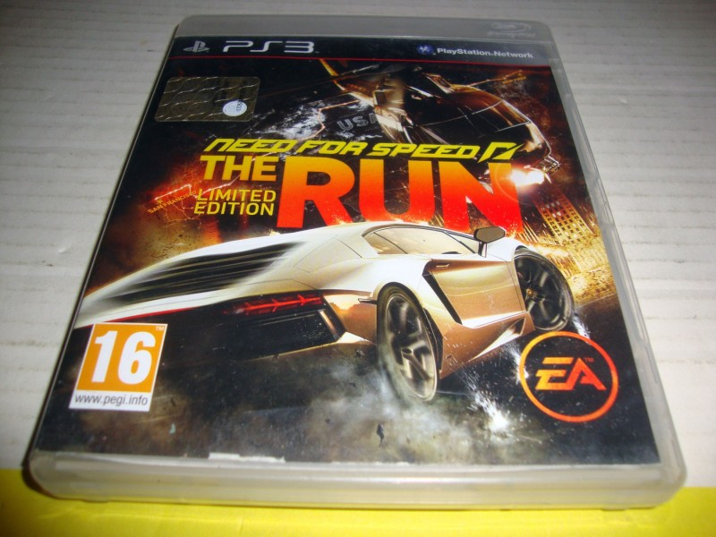 NEED FOR SPEED THE RUN - PS3 IGRA
