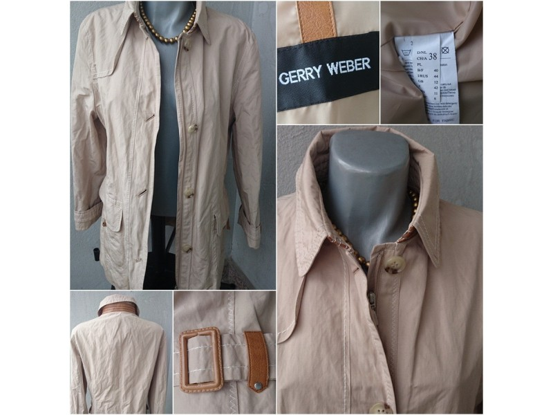 Original Gerry Weber fenomenalan mantil  38 NOVO