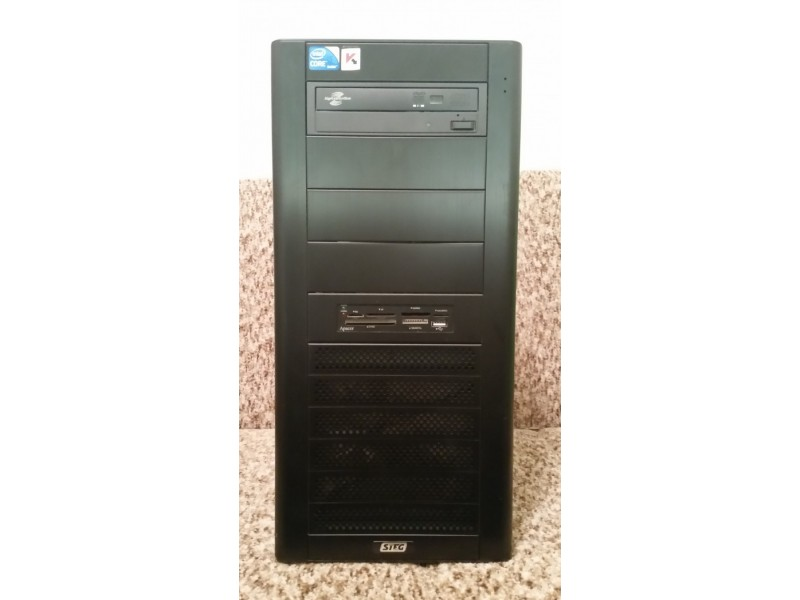 PC GIGABYTE P55A-UD3, Intel Core i5 2.80 GHz, 1TB
