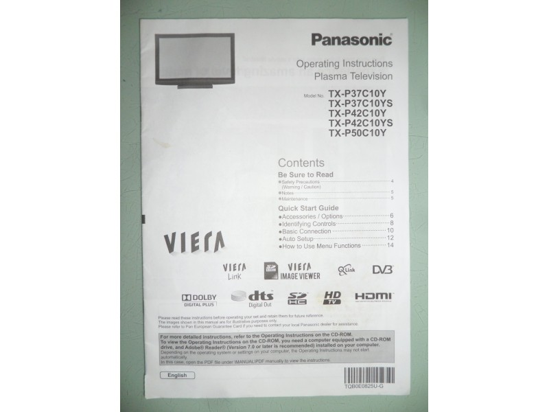 Panasonik TV 42""