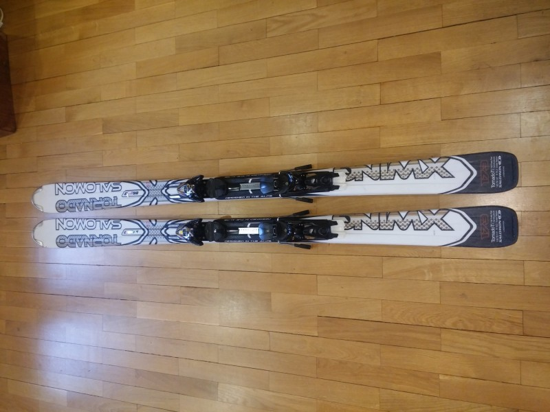 Salomon X-Wing Tornado Ti Skis + Z12 Bindings