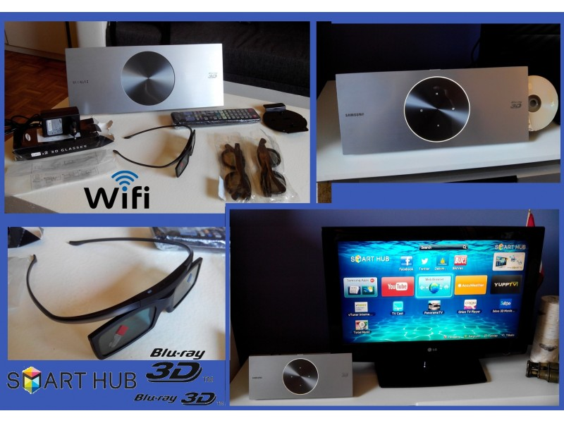 Samsung 3D Blu-ray,SMART player,Wi-Fi player VRH POVOLJ