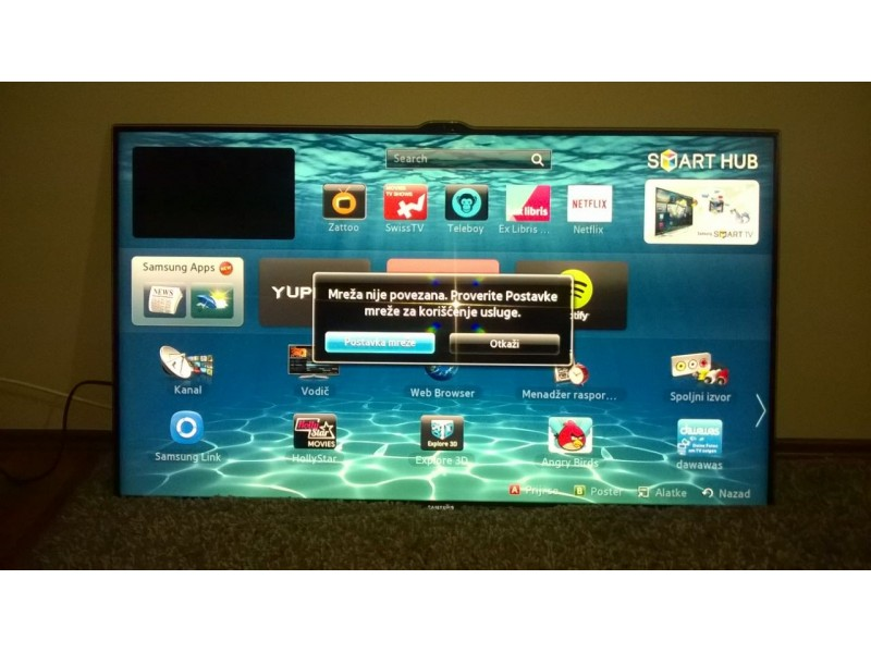 "Samsung LED TV 46"" Full HD Smart 3D kamera"