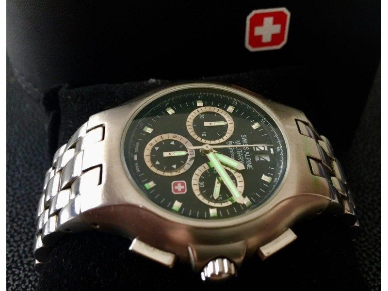 Swiss Alpine Military by Grovana Chronograph