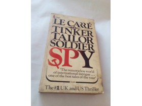 TINKER TAILOR SOLDIER SPY - JOHN LE CARRE