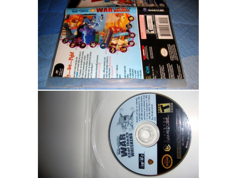 TOM and JERRY- NINTENDO GAME CUBE