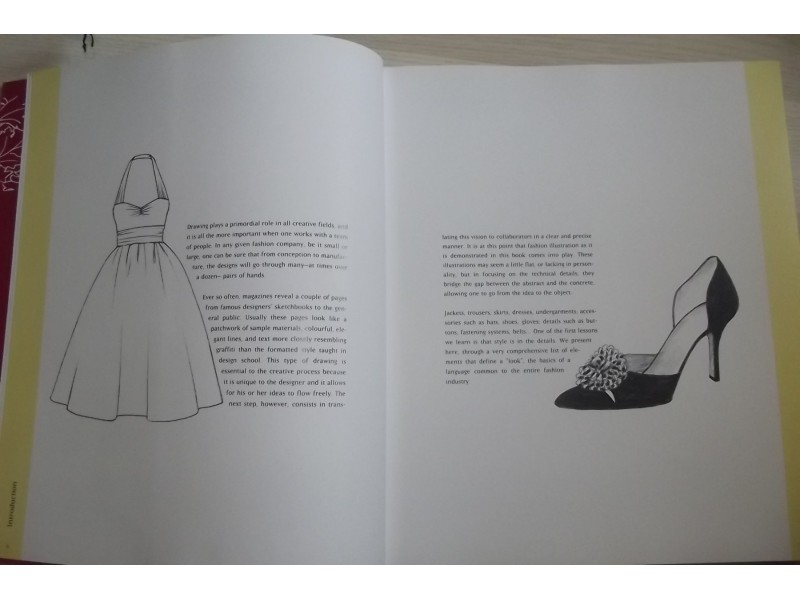 The language of fashion illustration