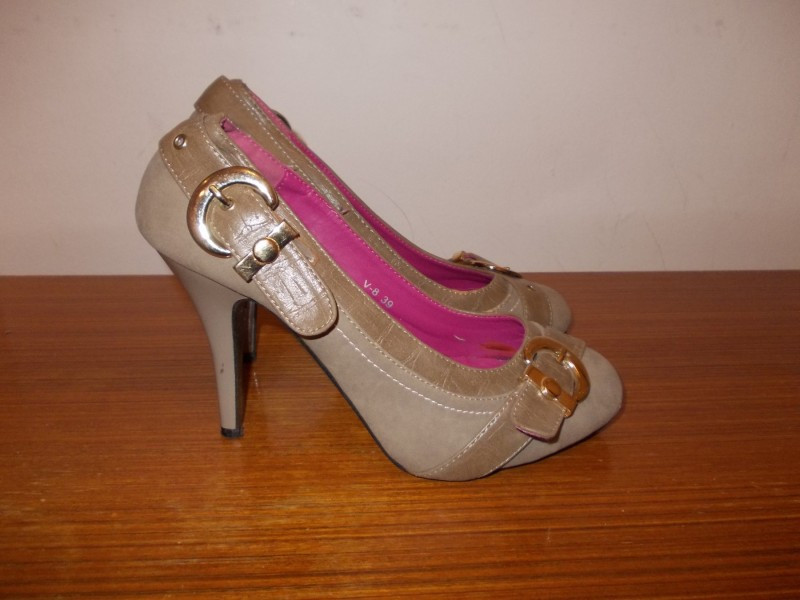 VISENIYA DONNA SHOES braon cipele - br.39