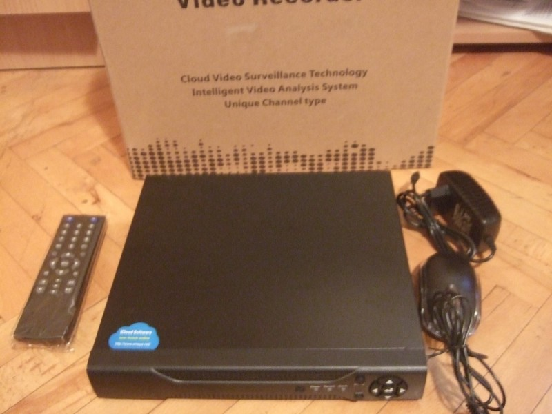 ahd video nadzor 4 kamere /tribird ahd dvr