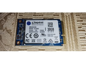 mSata SSD Kington 30 GB