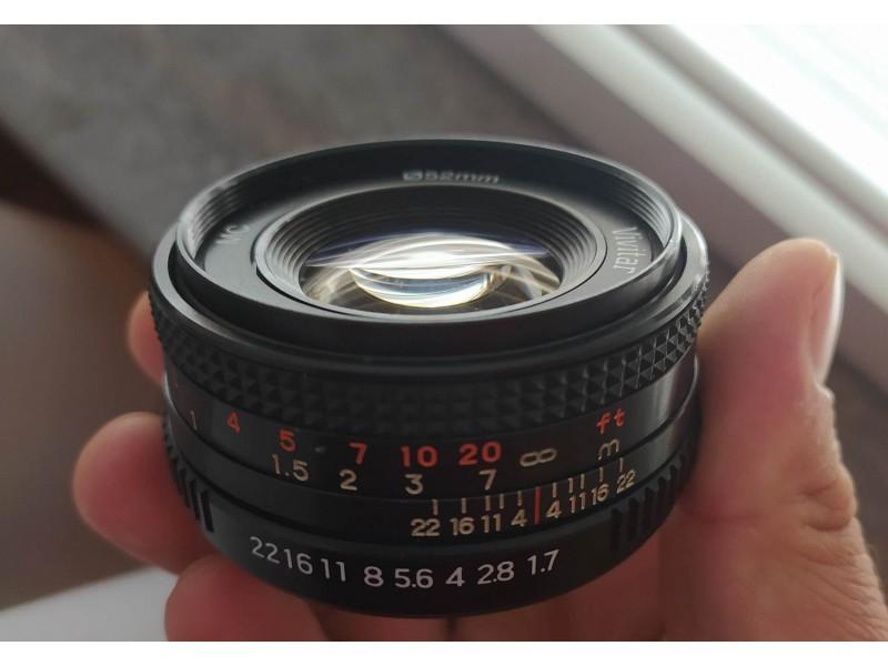 Vivitar MC 50mm f1.7 , v3000s